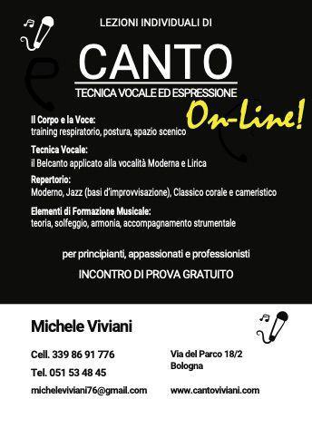 Lezioni di canto online