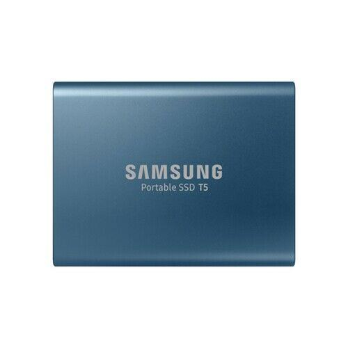 Samsung ssd 500gb t5 external ssd blue
