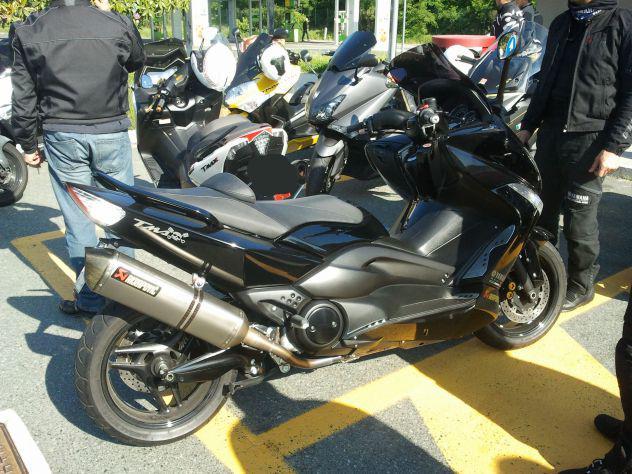 Yamaha tmax - total black - full optional + acc