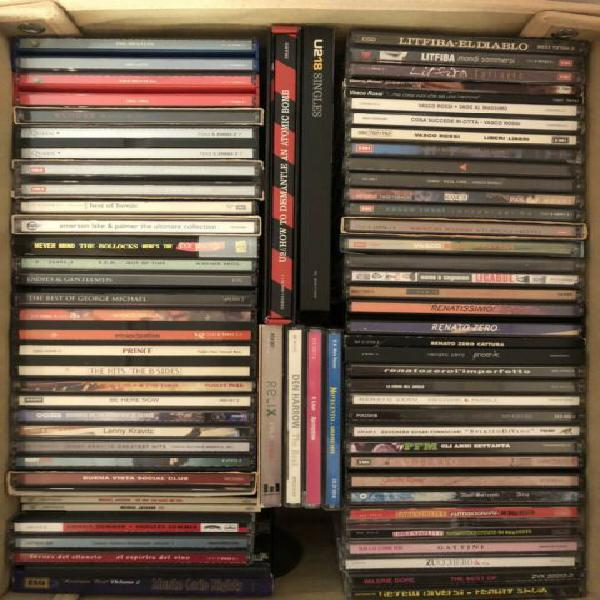 100 cd originali italiani e stranieri