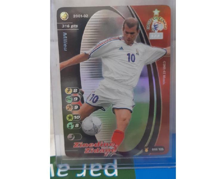Football champions zidane mint equipe de france