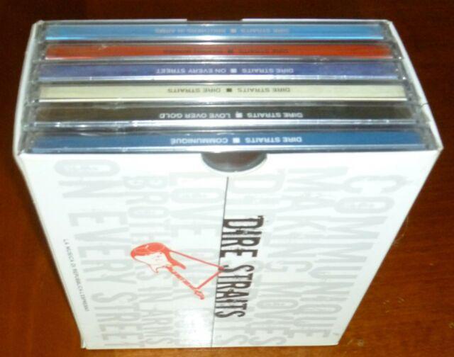 Cofanetto cd dire straits,con 6 cd