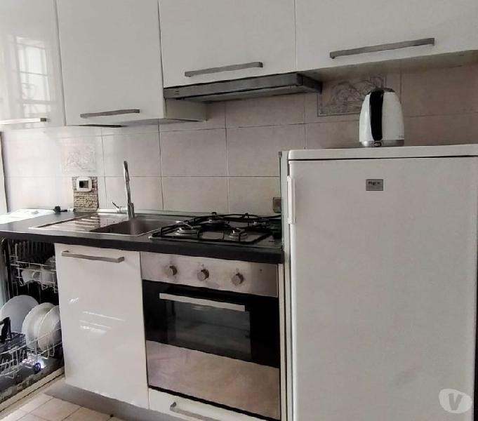 Cucina usata componibile ikea bianco lucido moderna buone co