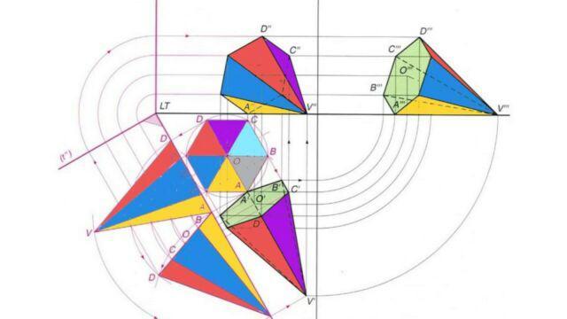 Lezioni geometria descrittiva preparazione concorso
