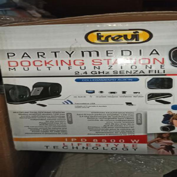 Stereo station trevi ipd 8500 w wireless mp3