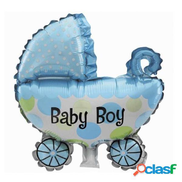 Palloncino foil culla celeste baby boy 982892-01