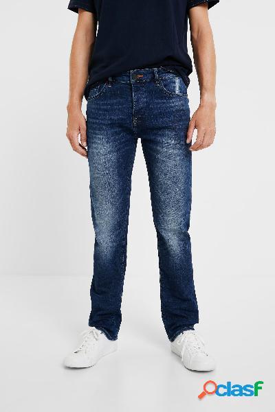 Pantaloni di jeans slim - blue - 32
