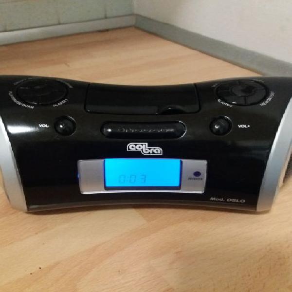 Cobra radio sveglia am/fm mod.oslo
