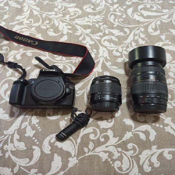 Canon 1100d + obiettivi