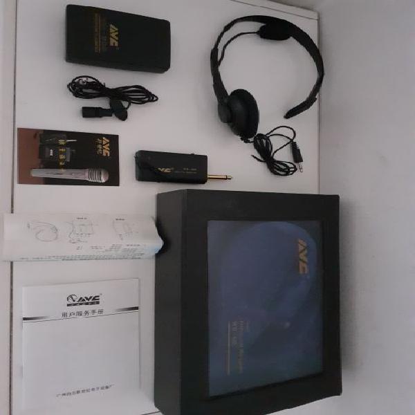 Ricetrasmettitore audio professionale avc wm-603