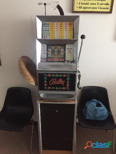 Slot bally 5 monete elettronica