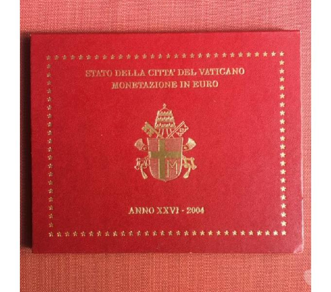 Serie divisionale vaticano 2004 fdc