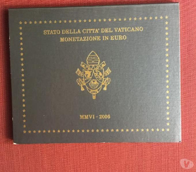 Serie divisionale vaticano 2006 fdc