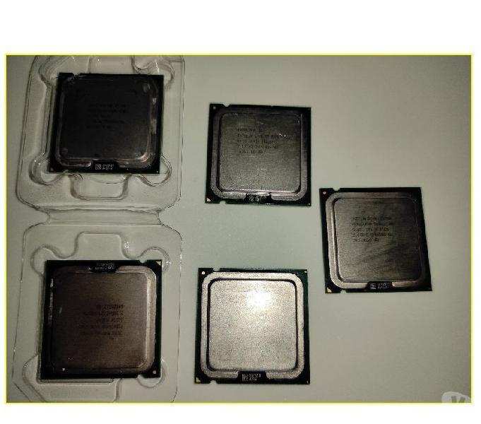 Stock 5 processori cpu intel socket 775