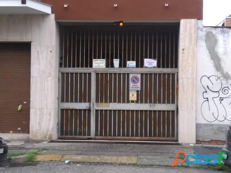 Box Auto singolo zona Parella