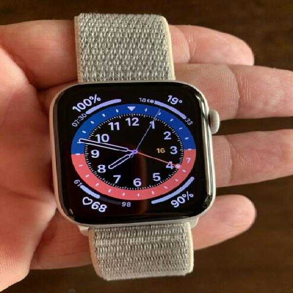 Apple watch serie 4, grigio 44mm nuovo