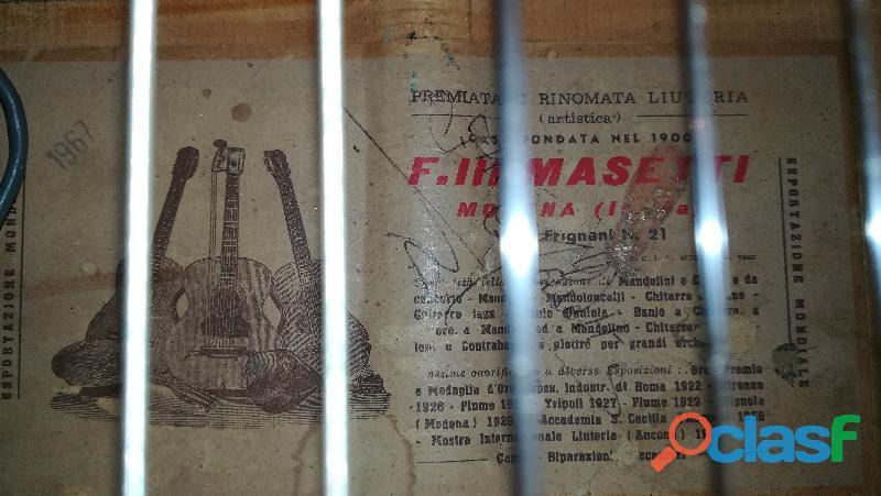 Chitarra classica Masetti 4
