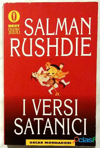 Versi satanici di Salman Rushdie; 1°Ed.Mondadori, luglio 1994 come nuovo
