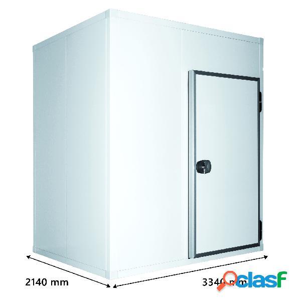 Cella frigo positiva senza pavimento - l 3340 mm x p 2140 mm x h 2470 mm