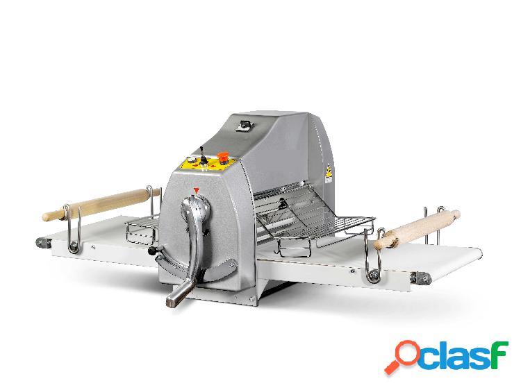 Sfogliatrice professionale da banco - dimensioni tappeto 500 x 1000 mm - trifase