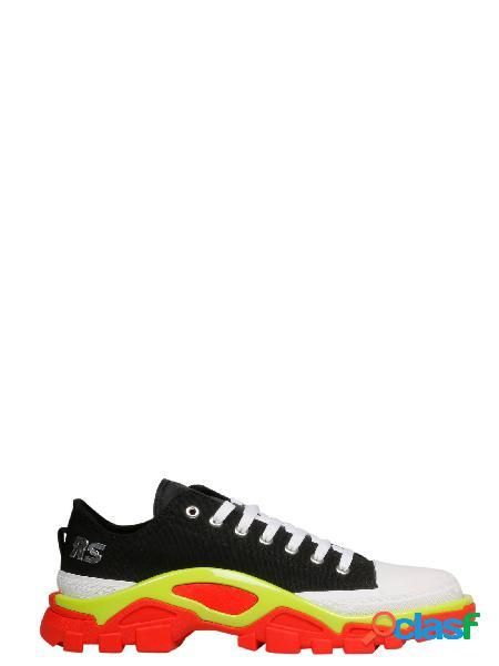 Adidas by raf simons sneakers uomo ee7935 tessuto nero