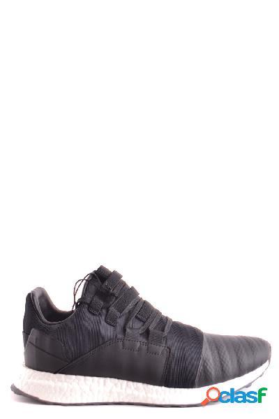 Adidas y-3 yohji yamamoto sneakers uomo by2632core cotone nero