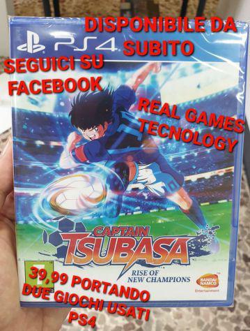 Captain tsubasa ps4 nuovo sigillato a soli 39,99€ portando