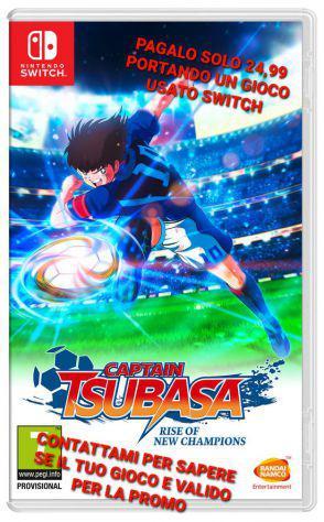 Captain tsubasa switch nuovo sigillato a soli 24,99€
