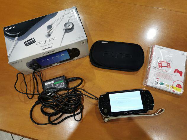 Console sony psp fat 1004k 1gb scatola originale fw 1.50
