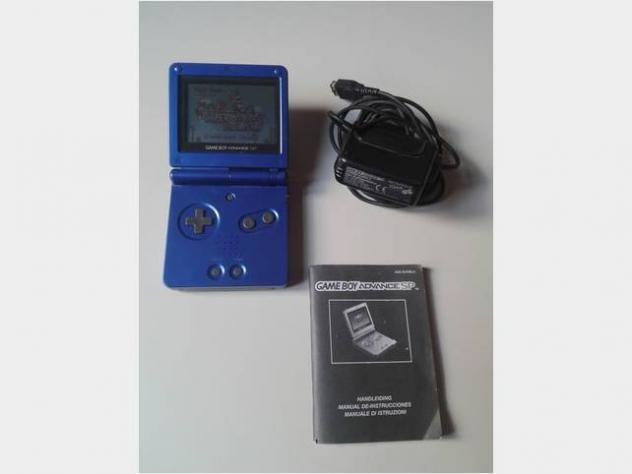 Game boy advance sp ags-001 nintendo gioco per bimbi fascia