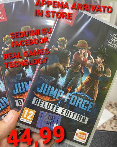 Jump force swich nuovo sigillato 44,99€