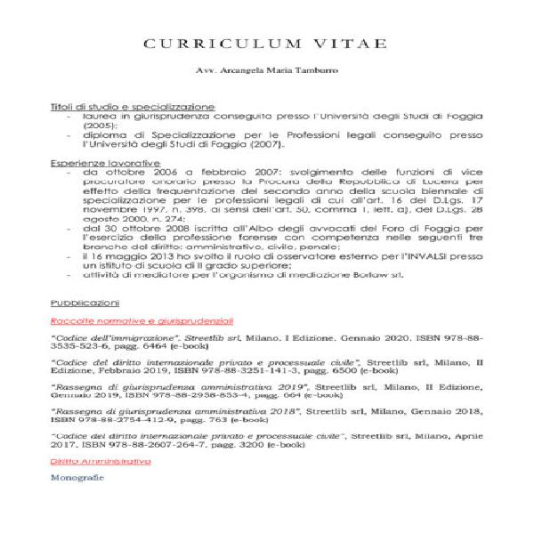 Lezioni italiano storia diritto / preparazione esame forense