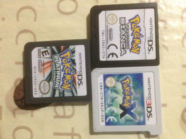 Lotto pokemon ds 3ds