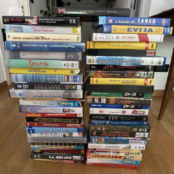 Lotto vhs videocassette