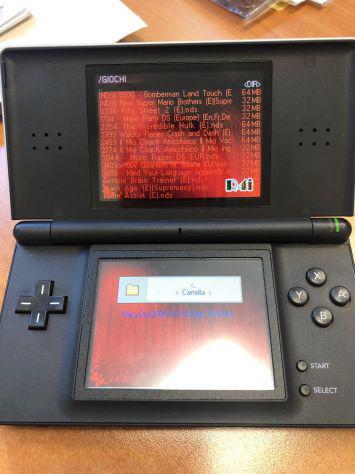Nintendo ds lite + 38 giochi installati