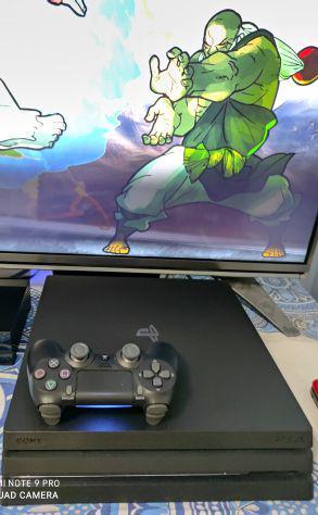 Ps4 playstation 4 pro con 1 pad scatola box