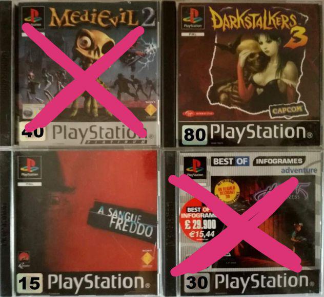 Playstation giochi
