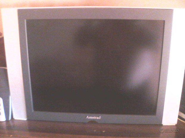 Tv amstrad lcd 20 pollici e decoder terrestre con