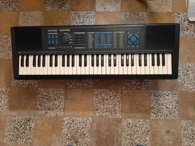 Tastiera bontempi system 5 at 919