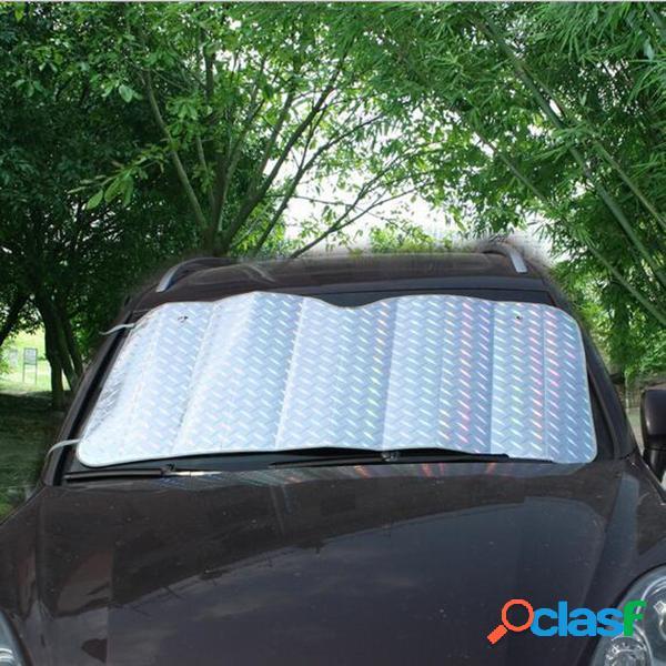 Vetro parabrezza dell'automobile anteriore dell'automobile schermo del blocchetto di schermo solare del laser uv 150cmx80cm pieghevole