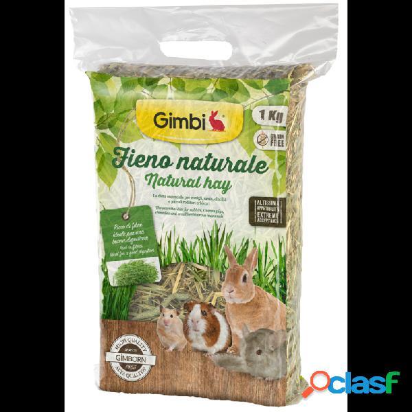 Gimborn - gimbi fieno naturale per conigli e roditori confezione da 1 kg