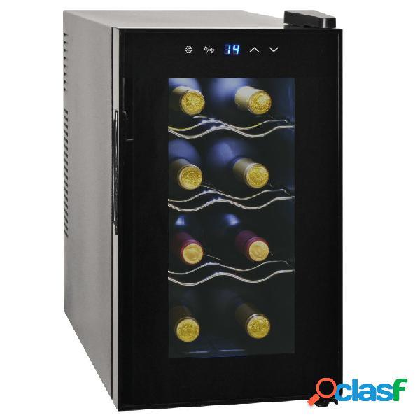 Vidaxl cantinetta per vini frigo bar 25 l 8 bottiglie display a lcd