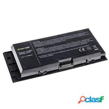 Batteria green cell per dell precision m6600, m6700, m6800 - 6600mah