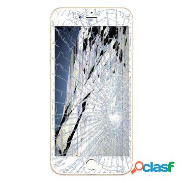 Riparazione del display lcd e del touch screen del iphone 6s - bianco - qualitã originale