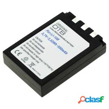 Olympus li-10b / li-12b batteria - 950mah