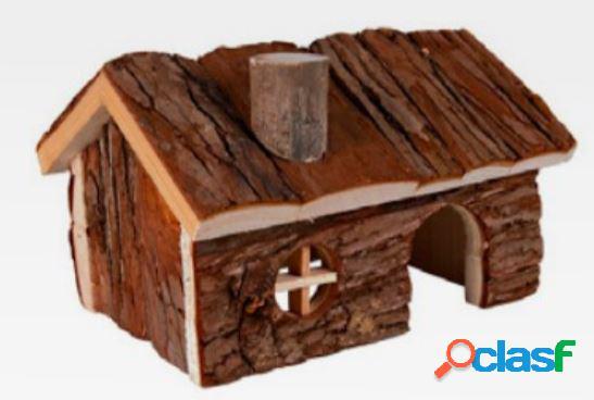 Croci casetta in legno wood house elena cm 15 x 11 x 12