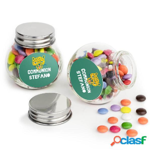 Confettini di cioccolato in barattolo - 60 confezioni
