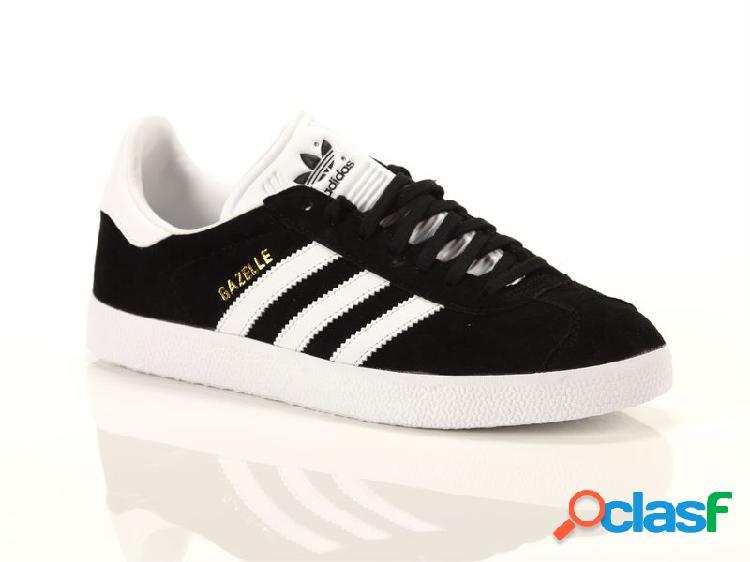 Adidas gazelle black white, 38 noirneronegronoir
