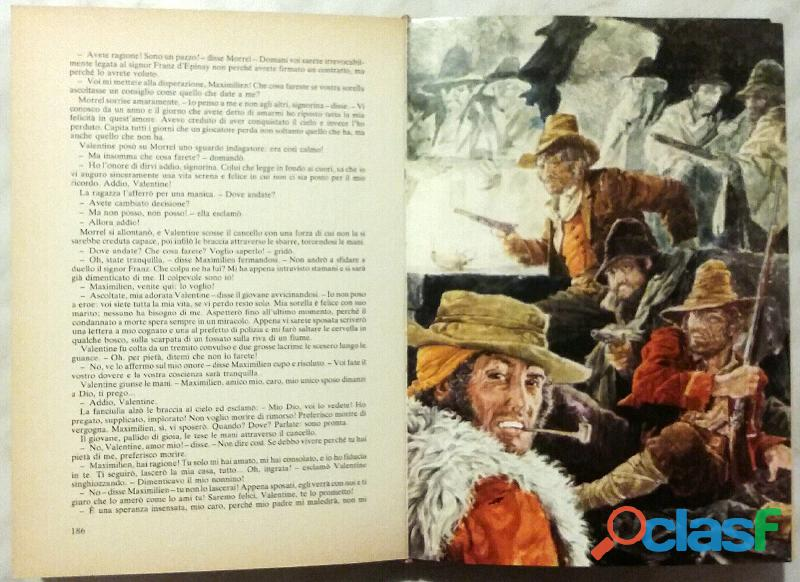 IL CONTE DI MONECRISTO di Alexandre Dumas; 1°Edizioni Accademia, 1976 3