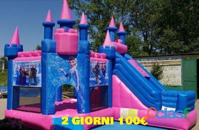noleggio gonfiabili,scivoli gonfiabili,festa bambini,noleggio castelli gonfiabili